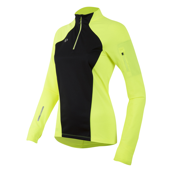 W Pursuit Wind Thermal Top Screaming Yellow/Zwart M